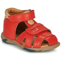 鞋子 男孩 凉鞋 GBB NUVIO 红色