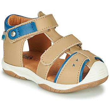 鞋子 男孩 凉鞋 GBB EUZAK 米色