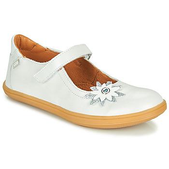 鞋子 女孩 平底鞋 GBB FANETTA 白色