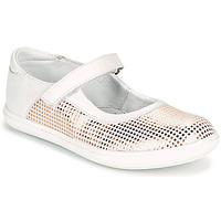 鞋子 女孩 平底鞋 GBB PLACIDA 白色