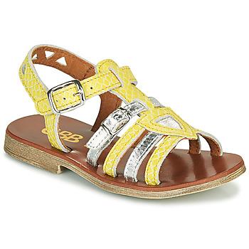 鞋子 女孩 凉鞋 GBB FANNI 黄色
