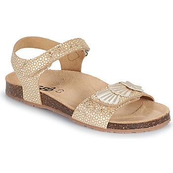 鞋子 女孩 凉鞋 GBB FAZZI 金色