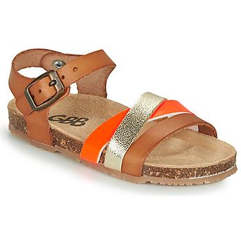 鞋子 女孩 凉鞋 GBB LULUNE 棕色