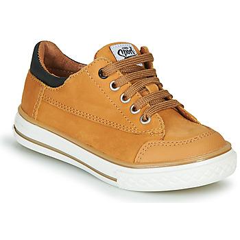 鞋子 男孩 球鞋基本款 GBB ETIO 棕色