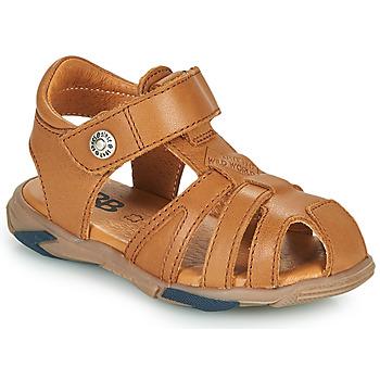 鞋子 男孩 凉鞋 GBB LUCA 棕色