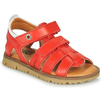 鞋子 男孩 凉鞋 GBB JULIO 红色