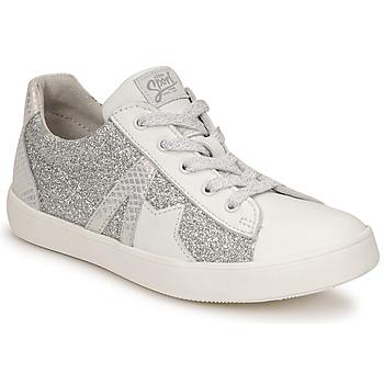 鞋子 女孩 球鞋基本款 GBB DANNI 白色 / 银灰色