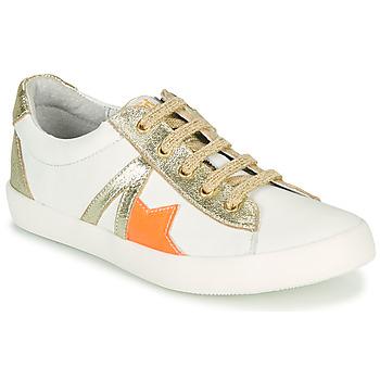 鞋子 女孩 球鞋基本款 GBB DANNI 白色