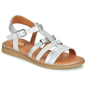 鞋子 女孩 凉鞋 GBB OLALA 银灰色