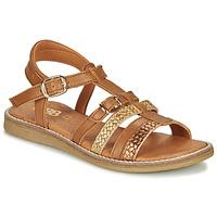 鞋子 女孩 凉鞋 GBB OLALA 棕色