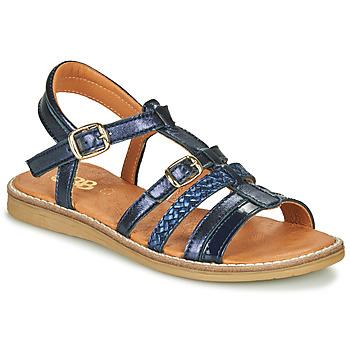 鞋子 女孩 凉鞋 GBB OLALA 蓝色