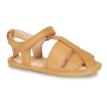 鞋子 儿童 拖鞋 Easy Peasy NOBLU 棕色