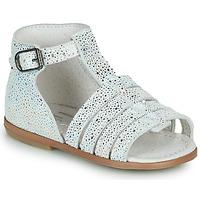 鞋子 女孩 凉鞋 Little Mary HOSMOSE 灰色