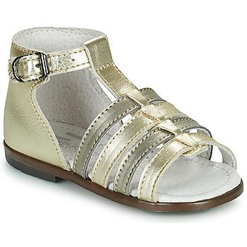 鞋子 女孩 凉鞋 Little Mary HOSMOSE 金色