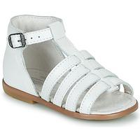 鞋子 女孩 凉鞋 Little Mary HOSMOSE 白色