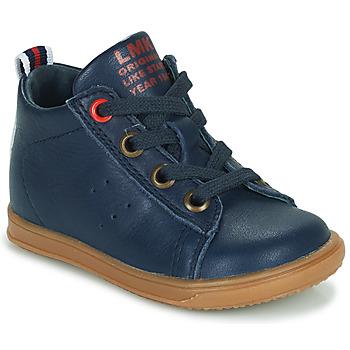 鞋子 男孩 高帮鞋 Little Mary LEON 蓝色