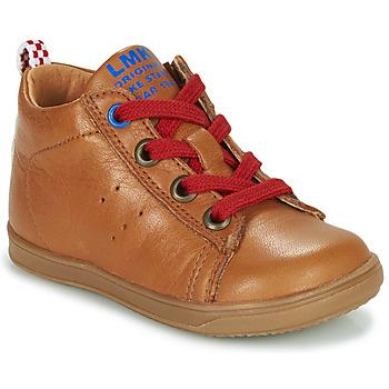 鞋子 男孩 高帮鞋 Little Mary LEON 棕色