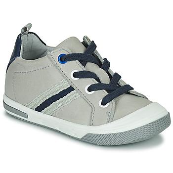 鞋子 男孩 球鞋基本款 Little Mary LOGAN 灰色