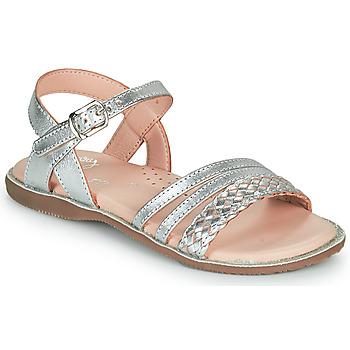 鞋子 女孩 凉鞋 Little Mary LIME 银灰色