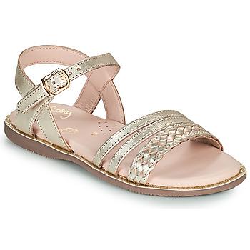鞋子 女孩 凉鞋 Little Mary LIME 金色