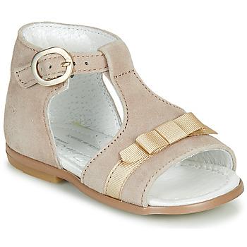 鞋子 女孩 凉鞋 Little Mary GAELLE 米色