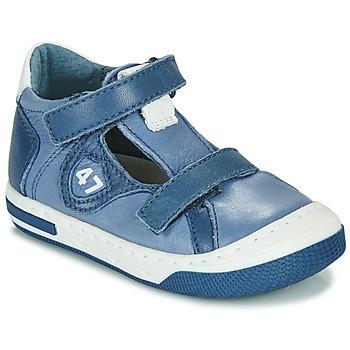 鞋子 男孩 球鞋基本款 Little Mary LORENZO 蓝色