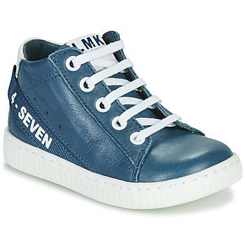 鞋子 男孩 高帮鞋 Little Mary LUCKY 蓝色
