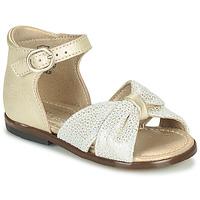 鞋子 女孩 凉鞋 Little Mary DIANA 金色