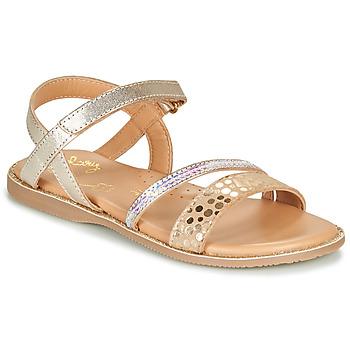 鞋子 女孩 凉鞋 Little Mary DOLERON 金色