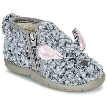 鞋子 儿童 拖鞋 Little Mary LAPINZIP 灰色