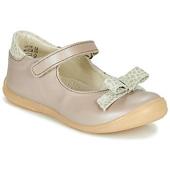 鞋子 女孩 平底鞋 Little Mary LUDMILA 灰褐色
