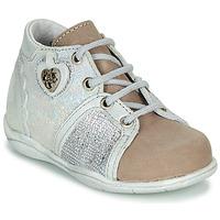 鞋子 女孩 短筒靴 Little Mary VANILLE 银灰色 / 灰褐色