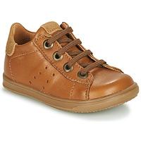 鞋子 男孩 球鞋基本款 Little Mary DUSTIN 棕色