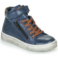 鞋子 男孩 高帮鞋 Little Mary FIRST 蓝色