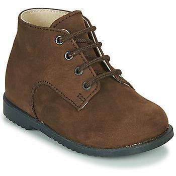鞋子 男孩 短筒靴 Little Mary MILOT 棕色
