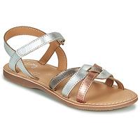 鞋子 女孩 凉鞋 Little Mary LIGHT 银灰色 / 古銅色 / 玫瑰色 / 金色