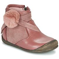 鞋子 女孩 短筒靴 Little Mary FRANCOISE 玫瑰色