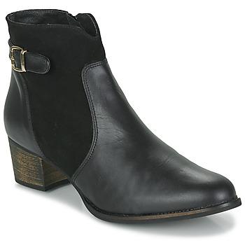 鞋子 女士 短靴 So Size SERELLE 黑色