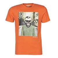 衣服 男士 短袖体恤 Jack & Jones 杰克琼斯 JORSKULLING 橙色