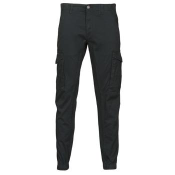 衣服 男士 工装裤 Jack & Jones 杰克琼斯 JJIPAUL 黑色