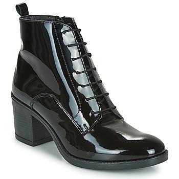 鞋子 女士 短筒靴 André EDONY 黑色 / 漆皮