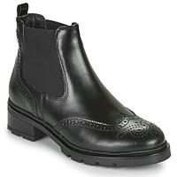 鞋子 女士 短筒靴 André PAZANNE 黑色
