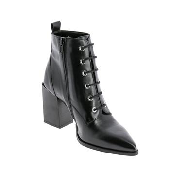 鞋子 女士 短筒靴 André EMOGENE 黑色