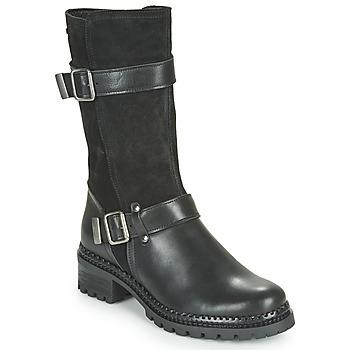 鞋子 女士 短筒靴 André PHENOMENE 黑色