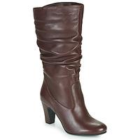 鞋子 女士 都市靴 André LALALY 波尔多红