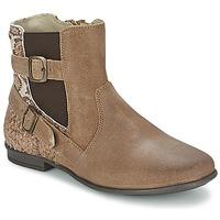 鞋子 女孩 短筒靴 Aster DESIA 灰褐色 / 印花