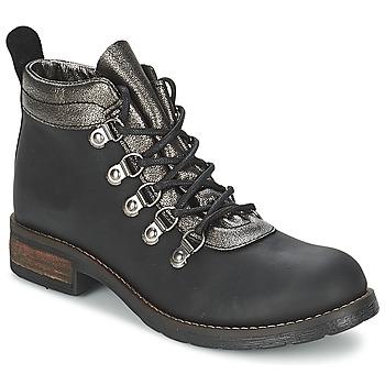鞋子 女士 短筒靴 Casual Attitude MIZATTE 黑色