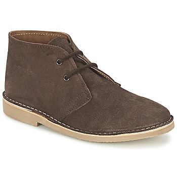 鞋子 男士 短筒靴 Casual Attitude IXIFU 棕色