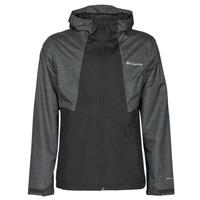 衣服 男士 冲锋衣 Columbia 哥伦比亚 INNER LIMITS II JACKET 黑色 / 灰色