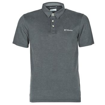 衣服 男士 短袖保罗衫 Columbia 哥伦比亚 NELSON POINT POLO 灰色